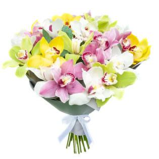 Букет «Краски орхидей»