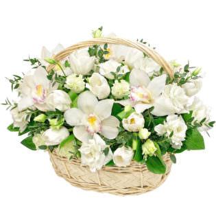 Цветы в корзинке «Гармония»